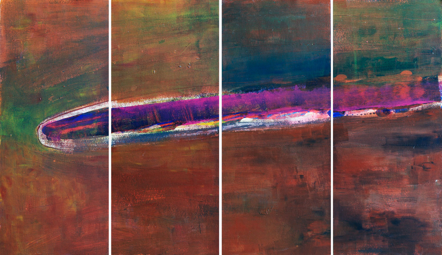 Modern abstract paintings - 4 Piece Wall Art