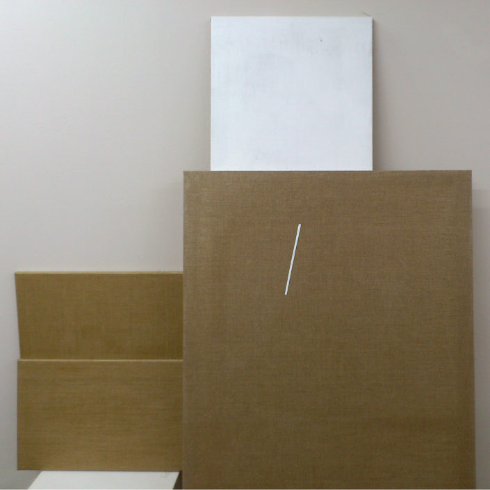 Ready to use canvases from modern painting studio from Tomasz Cichowski