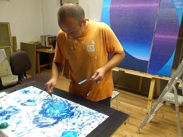 Contemporary Artist Studio