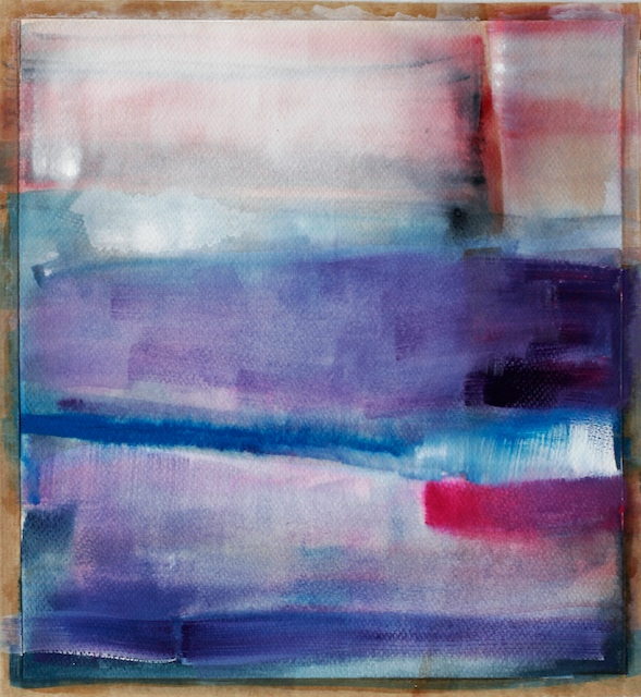 Watercolor gouache abstract paintings for sale