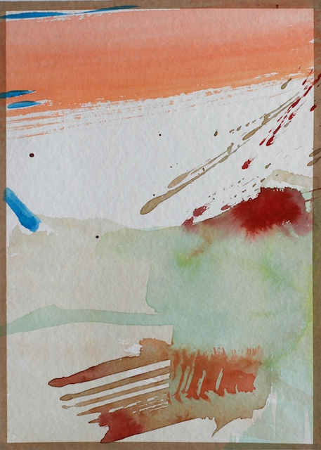 watercolor abstract paintings contemporary art