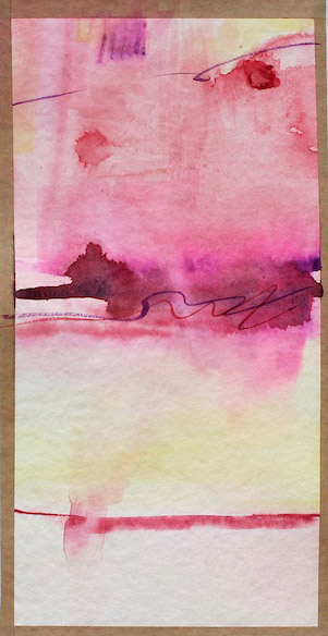 watercolor abstract painting contemporary art