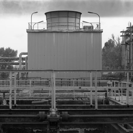 post industrial black white photography
