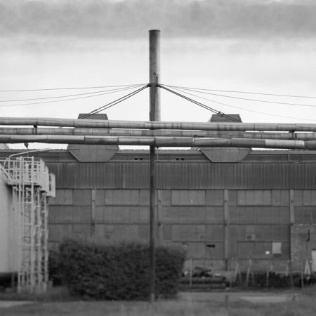 post industrial bw photography