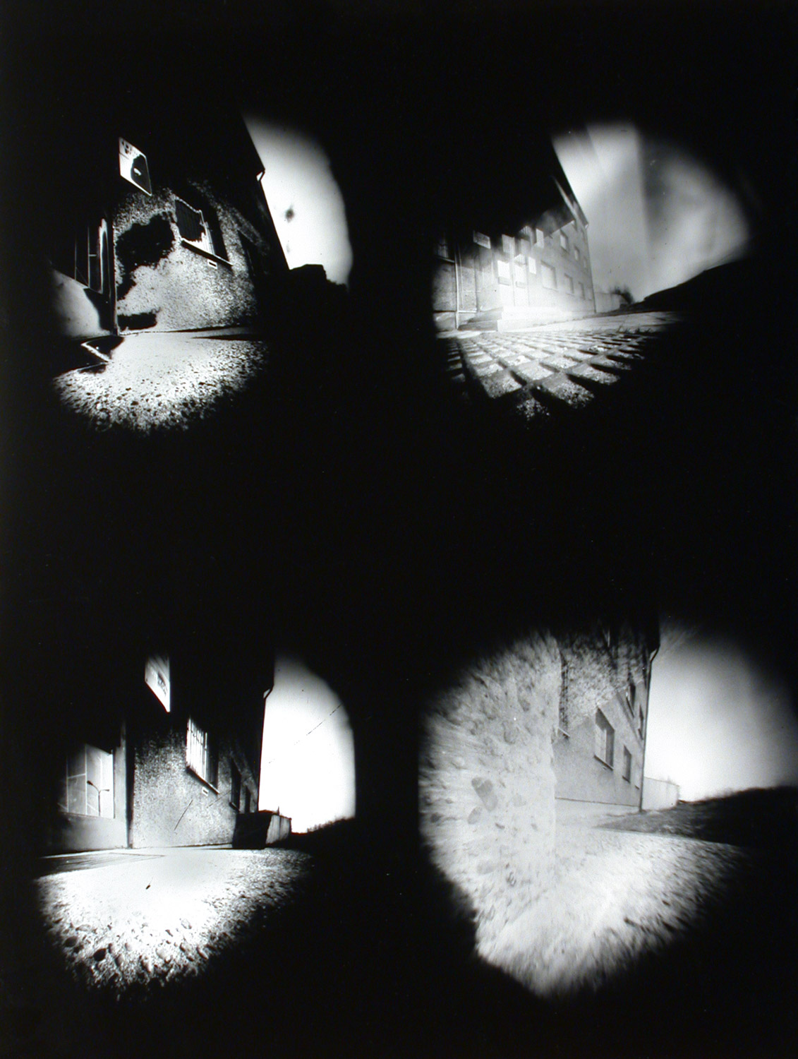 pinhole fine art black white photography