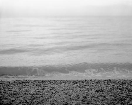 Sea fine art photography - black white