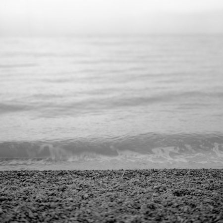 Sea fine art photography - black white
