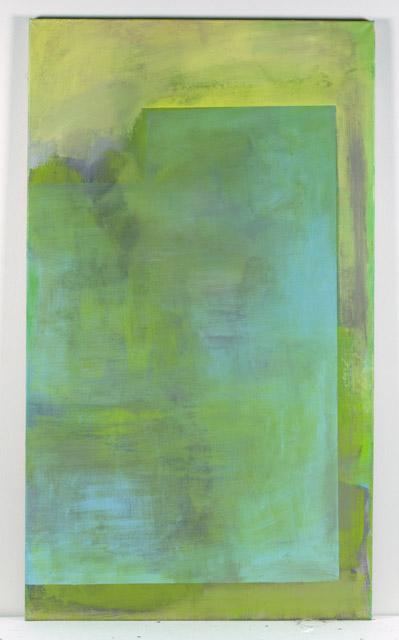 minimalist abstract painting on canvas