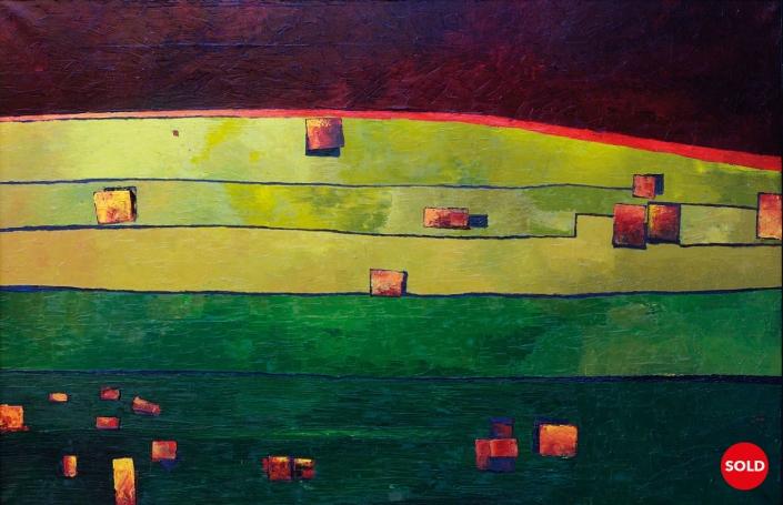 Original large contemporary art painting