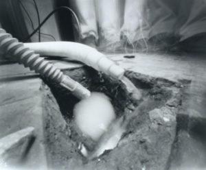 pinhole art photography black and white
