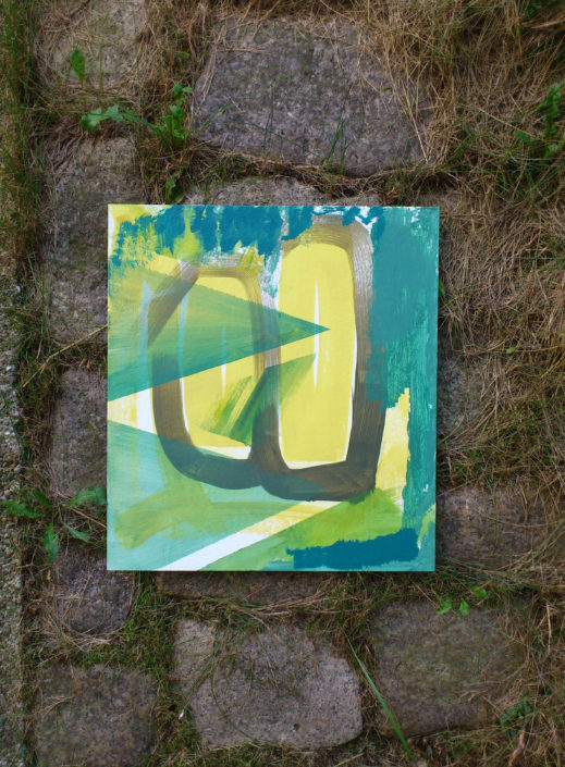 Contemporary Painting work in progress