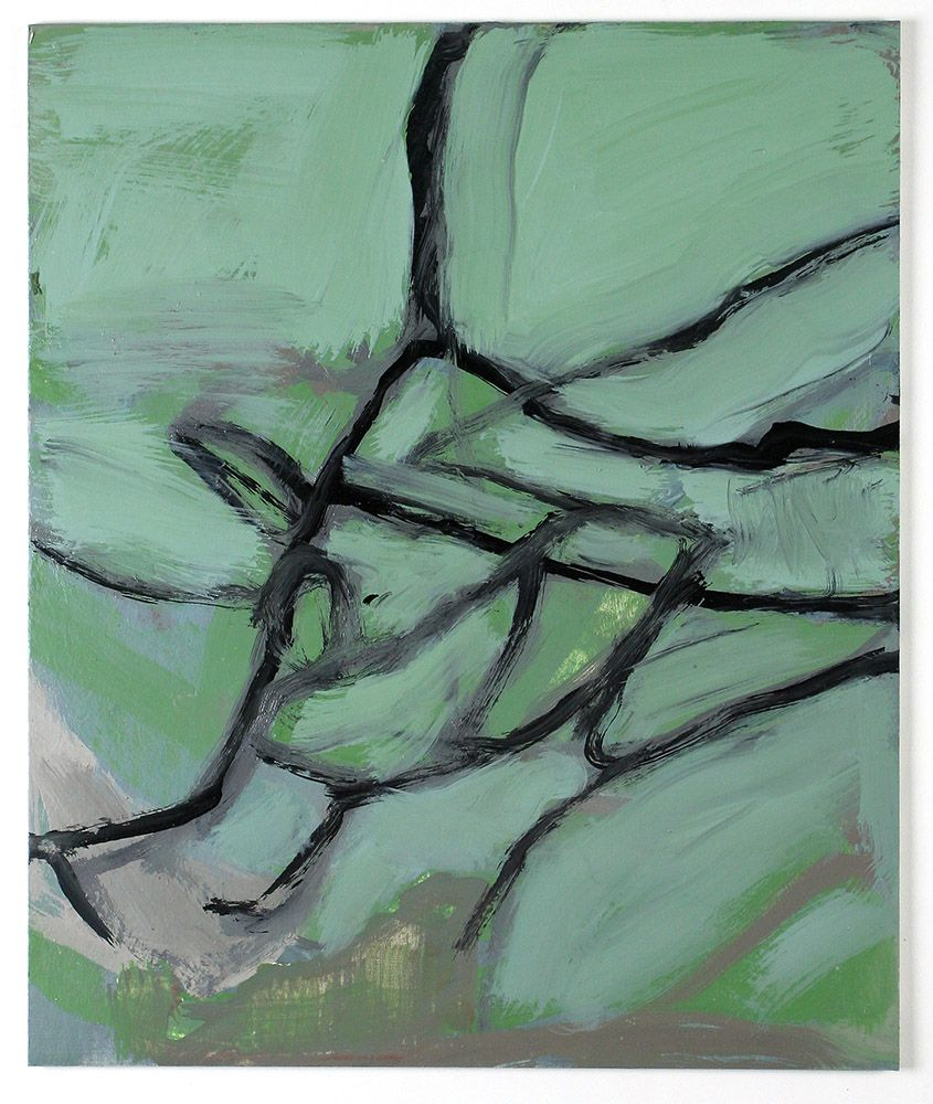Abstract Painting Small Size
