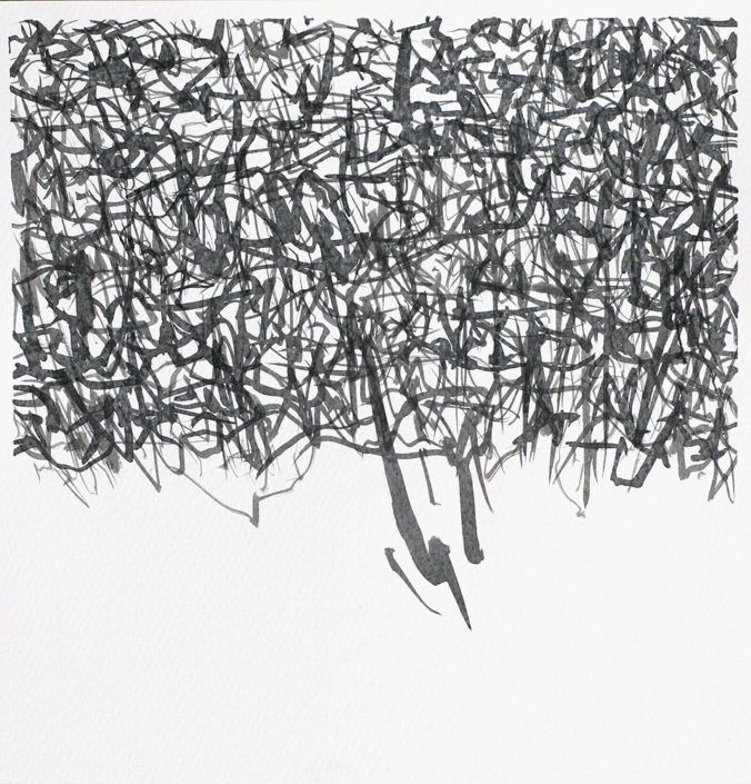abstract original drawing online